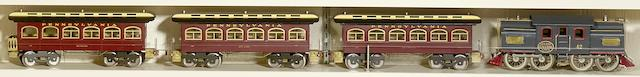 Lionel 42 Standard gauge 0-4-4-0 electric locomotive, 1913-1923,