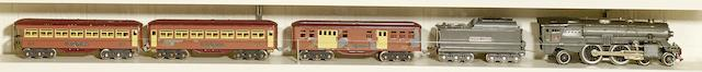 Lionel 392E Standard gauge 4-4-2 'steam' locomotive,