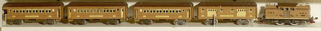 Lionel 318E Standard gauge 0-4-0 electric locomotive, 1926-1935,