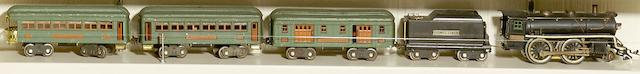 Lionel 384E Standard gauge 2-4-0 'steam' locomotive,