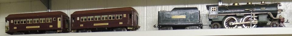 Lionel 390E Standard gauge 2-4-2 'steam' locomotive,