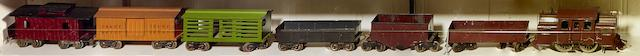 Lionel 53 Standard gauge 0-4-0 electric locomotive, 1915-1919,