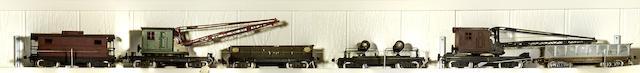 Lionel Standard gauge rolling stock,