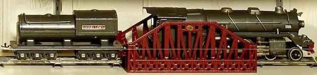 Lionel 400E Standard gauge 4-4-4 'steam' locomotive,