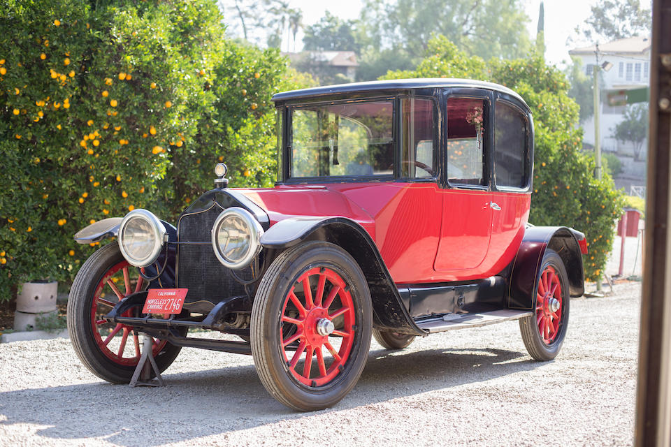 <b>1915 National Six Series AA Coupe</b><br />Chassis no. 10250<br />Engine no. 6076