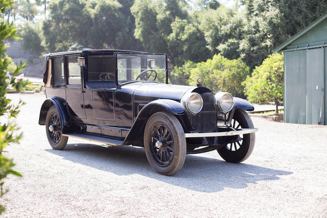 <b>1925 LOCOMOBILE MODEL 48 SERIES 7 TOWN CAR</b><br />Chassis no. 18009