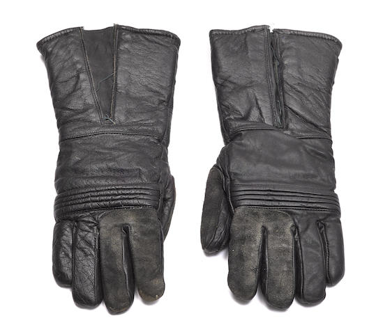 A pair of Imperial Biker Scout gloves from Return of the Jedi