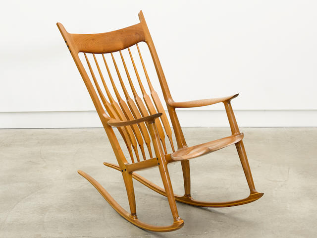 Sam Maloof (1916-2009) Rocking Chair