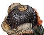 A fine armor with a Myochin helmet The helmet by Myochin Katsuie, Muromachi period (1333-1573), 16th century, the armor Edo period (1615-1868), 18th century