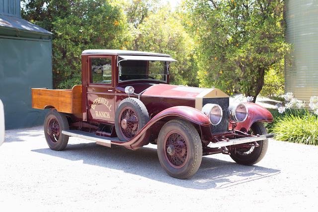 <b>1926 ROLLS-ROYCE 40/50HP SILVER GHOST PICK-UP</b><br />Chassis no. S248PK<br />Engine no. 21214