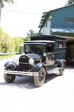 <b>1929 Ford Model AA Police Truck</b><br />Engine no. AA874782