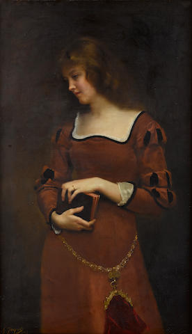 Bonhams : Gustave Jean Jacquet (French, 1846-1909) Wistful thoughts ...