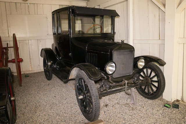 <b>1924 Ford Model T Coupe</b><br />Engine no. 9936669