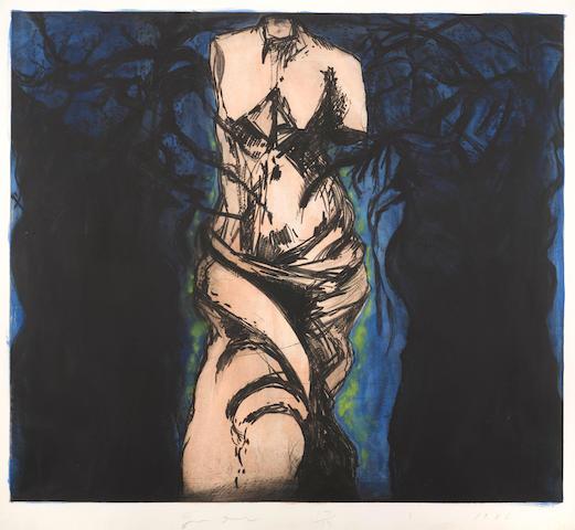 Jim Dine (born 1935); Rise Up, Solitude!;