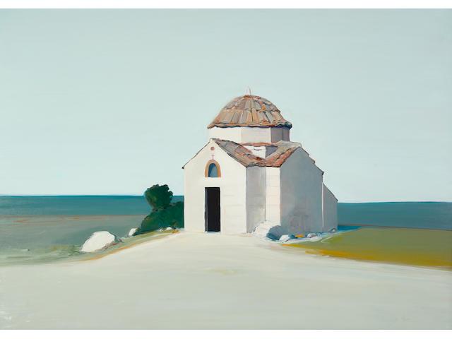 Gregory Kondos (born 1923) Byzantine Church, 1974 60 x 84 in. (152.4 x 213.4 cm)