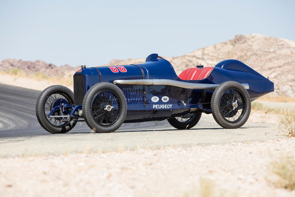 <b>1914 PEUGEOT L45 GRAND PRIX TWO SEATER</b><br />Chassis no. 1<br />Engine no. 1