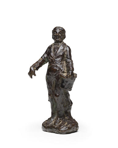After Honoré Daumier (1808-1879) Le poète 6 1/8 in (15.5 cm) (height)