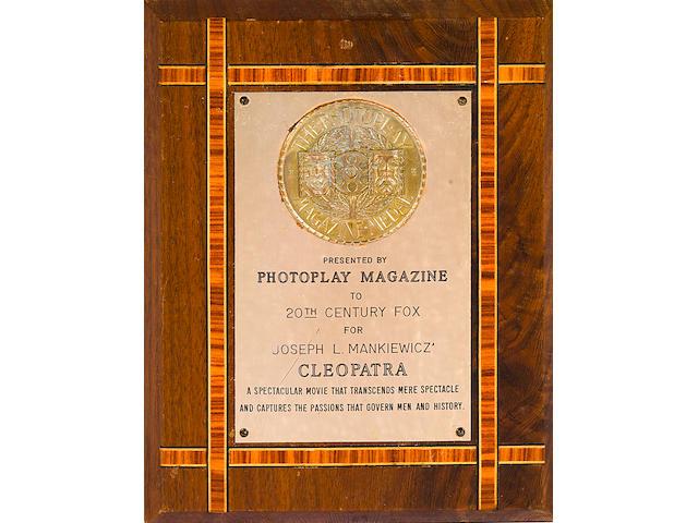 A Joseph L. Mankiewicz group of awards