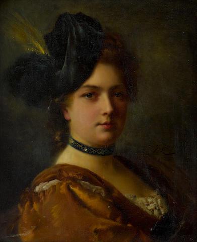 Bonhams : Gustave Jean Jacquet (French, 1846-1909) La courtisane 18 ...