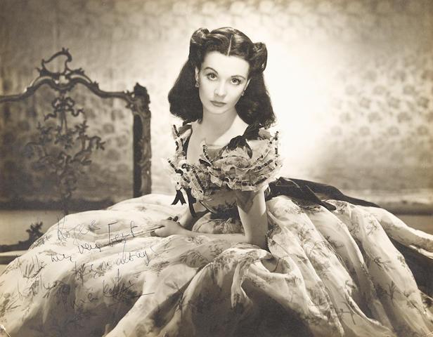 A Vivien Leigh signed photo