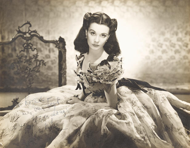 A Vivien Leigh signed photo