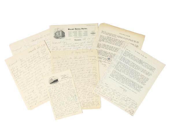GOLDMAN, EMMA. 1869–1940. VAN VALKENBURGH, WARREN STARR. 1884-1938.