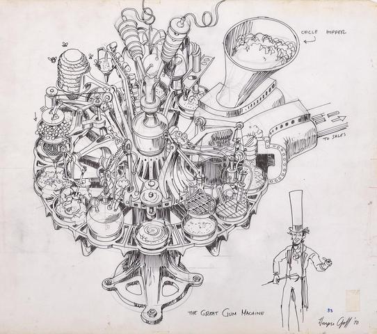 Good Bookcover Design: Bonhams : A Group Of Harper Goff Design Drawings Of The
