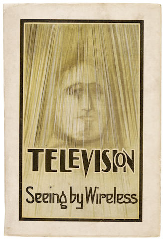 DINSDALE, ALFRED. Television: Seeing by Wireless. London: W. S. Caines for Sir Isaac Pitman & Sons, 1926.