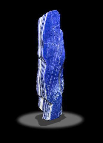 Large Lapis Lazuli Free-form Sculpture