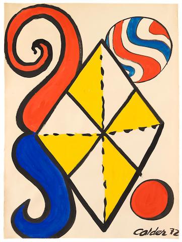 ALEXANDER CALDER (1898-1976) Losange, 1972