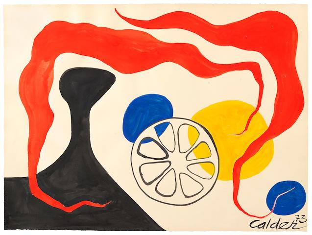 ALEXANDER CALDER (1898-1976) Roses de vents, 1973
