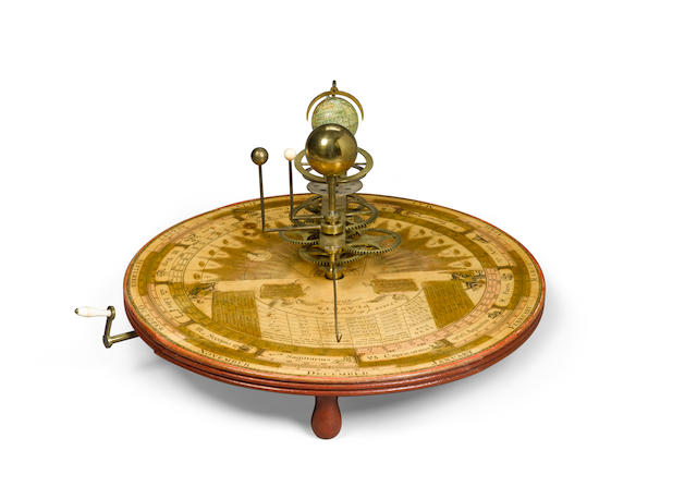 W & S JONES NEW PORTABLE ORRERY London, 1794.