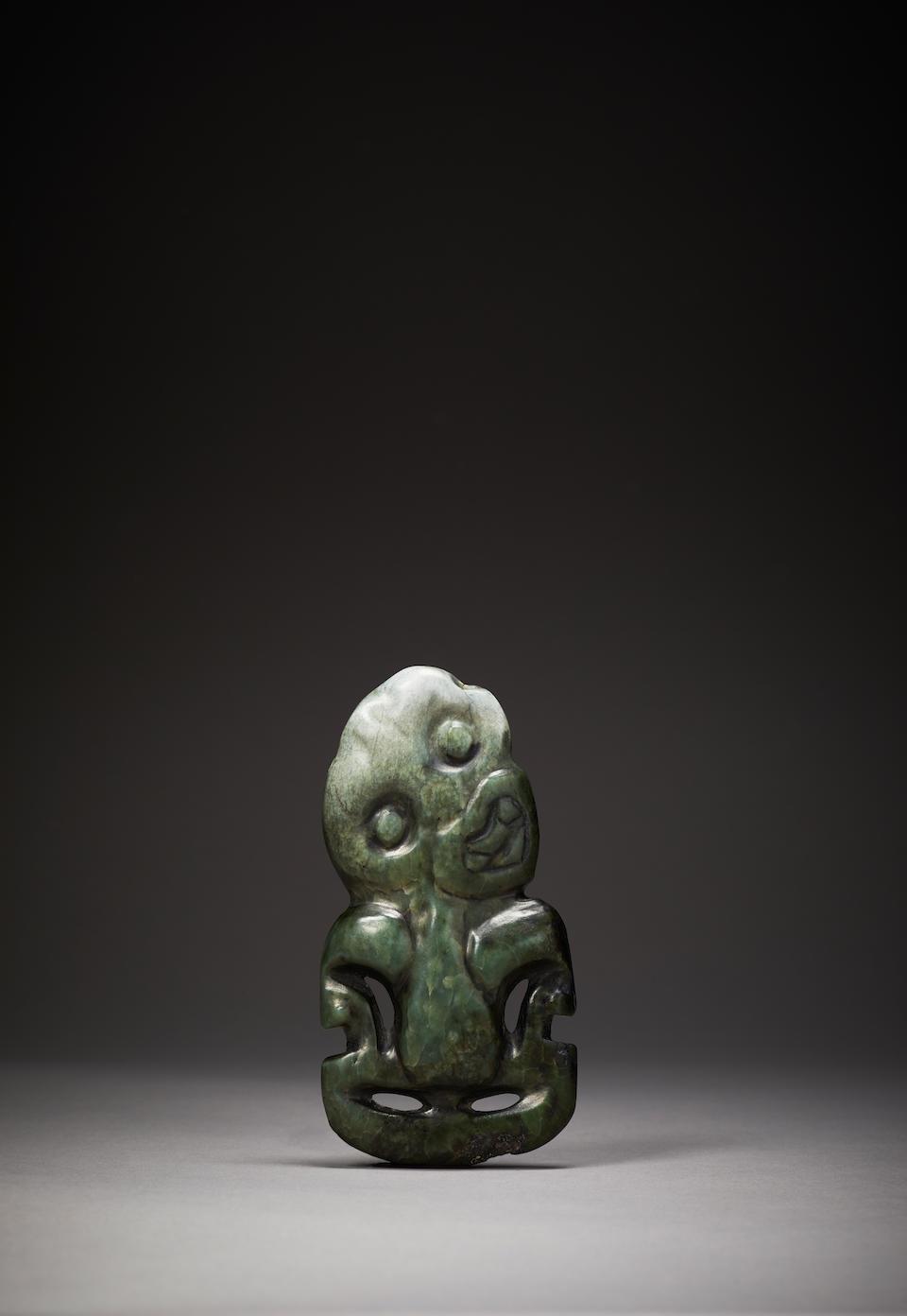 Maori Anthropomorphic Pendant, New Zealand, 1600-1850