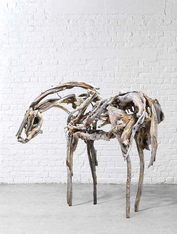 DEBORAH BUTTERFIELD (B. 1949) Dance Horse, 1999 (This work is unique.)