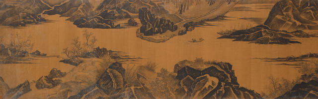 Anonymous (20th century) River Landscape
