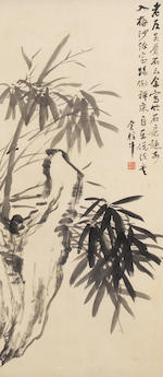 Jin Xinlan (1841-1909) Four Gentlemen, 1904