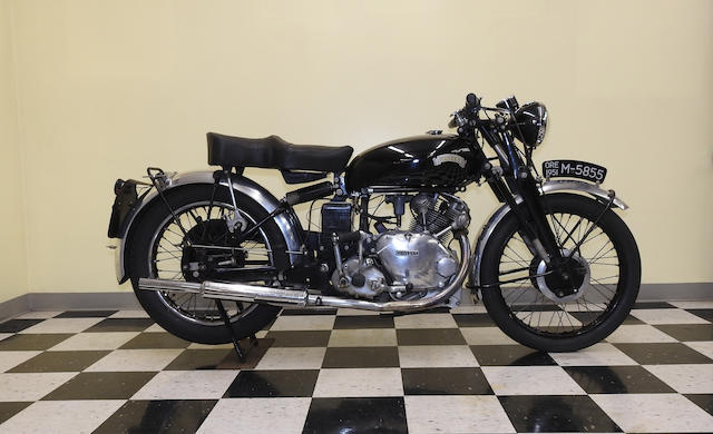 1950 Vincent 499cc Comet Frame no. RC/1/6714 Engine no. F5AB/2A/4814