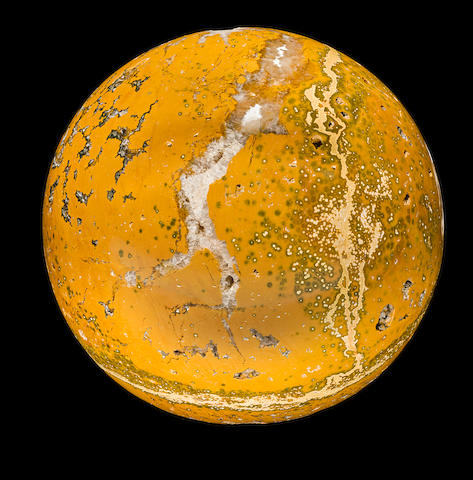 Yellow Jasper Sphere