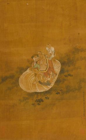 Anonymous (19th century) Budai with Boys