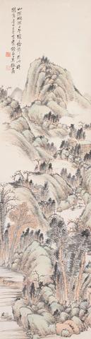 Wu Zheng (1878-1949) River Landscape, 1917