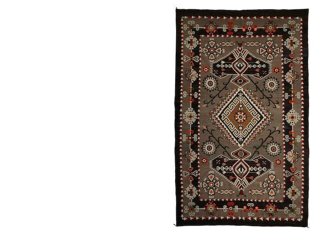 A Navajo Bisti pictorial rug