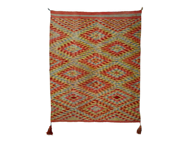 An exceptional Navajo Germantown weaving