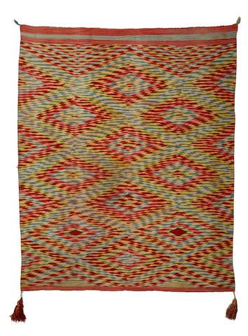 An exceptional Navajo Germantown weaving