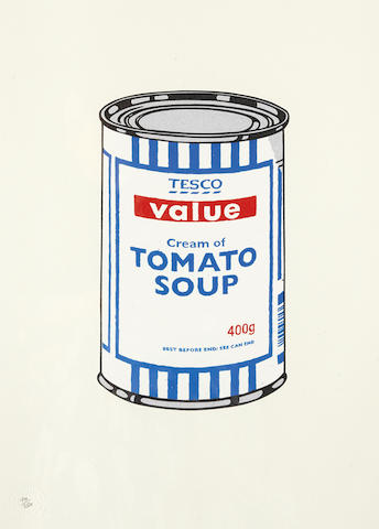 Banksy (born 1975); Soup Can;