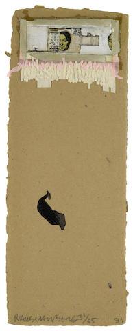 Robert Rauschenberg (1925-2008); Shirtboard, from Shirtboards, Morocco, Italy '52 Portfolio;