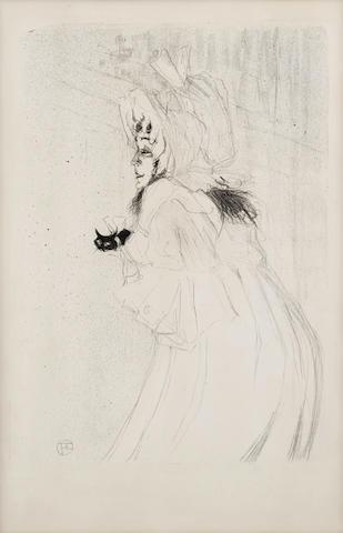 Henri de Toulouse-Lautrec (1864-1901); Miss May Belfort Salutant;