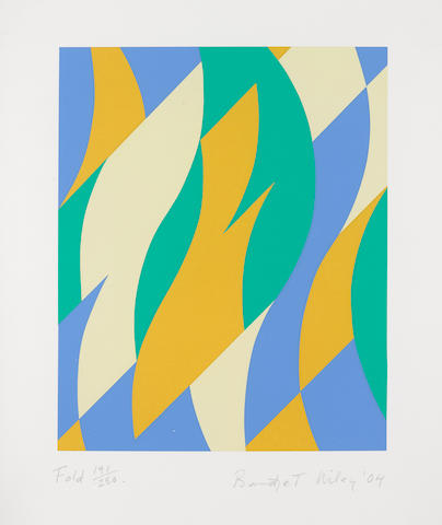 Bridget Riley (born 1931); Fold;