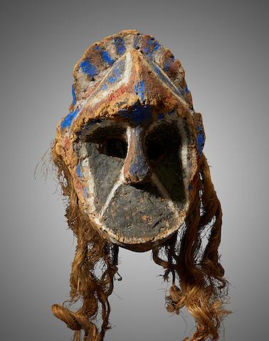 Rare Dance Mask, Ambrym Island, Vanuatu
