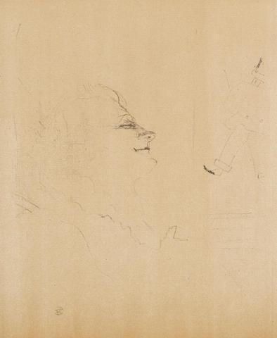 Henri de Toulouse-Lautrec (1864-1901); Yvette-Guilbert-Pessima ;