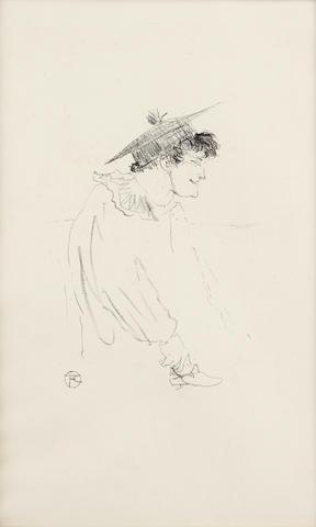 Henri de Toulouse-Lautrec (1864-1901); Petite fille anglaise (Miss Dolly);